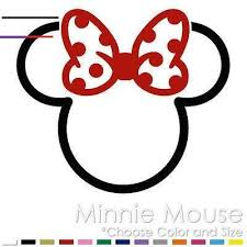 Minnie Mickey Mouse Tribal Two Color Tattoo Disney Vinyl Decal Sticker Mm 10 In 2020 Minnie Mouse Stickers Minnie Mouse Birthday Decorations Disney Minnie Mouse Ears