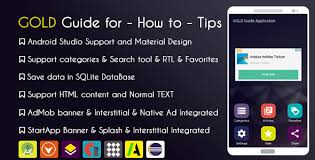 tips app with admob native ad