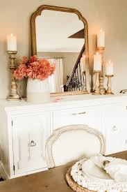 simple french country buffet decor a