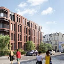 Historic social housing block next to famous Queens Tennis Club ...