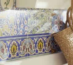 Moroccan Tile Wall Decal Pottery Barn