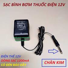 Bộ sạc ắc quy 12V 1200mA thông minh cho bình bơm điện, có đèn báo đầy | Sạc  ắc quy 12V , sac ac quy