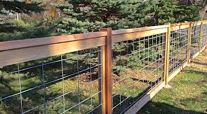 Hog Wire Fence Concept Welded Wire Fence Hog Wire Fence Fence Panels