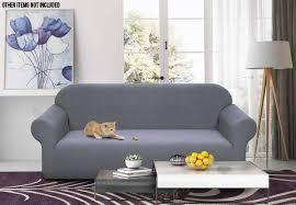 washable grey sofa cover grabone nz
