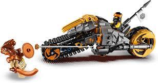 LEGO 70672 NINJAGO Cole's Dirt Bike Ninja Motorbike with ...