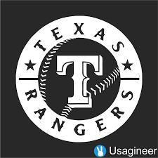 Texas Rangers Mlb Sports Vinyl Decal Sticker Texas Rangers Baseball Texas Rangers Sports Vinyl Decals