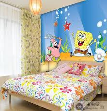 Online Buy Wholesale Spongebob Wallpaper For Rooms From China Kids Bedroom Decor Kids Bedroom Kid Room Decor