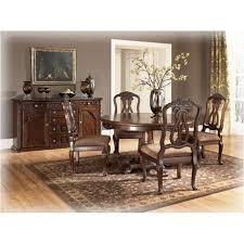 ashley furniture round pedestal table