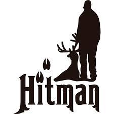 Custom Wall Decal Hitman Animal Hunting Hunter Man Gun Picture Art Boys Kids Bed Room Sports Sticker Vinyl Wall Decal 16 X 24 Inches Walmart Com Walmart Com
