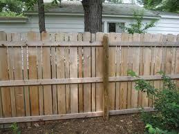 Alternating Width Vertical Slats Fence Design Private Fence Ideas Fence