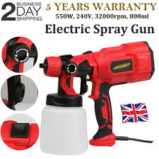Paint Sprayer Spray Gun Airless Wagner Electric 550w Home Outdoor Wall Fence Car Ebay