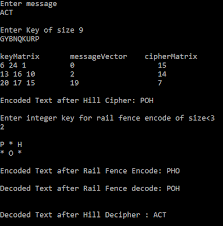 Encryption Decryption Using Hill Rail Fence Algorithm By Samarth Agarwal The Startup Medium