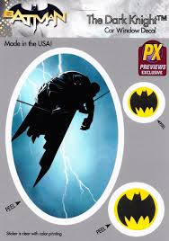 Batman The Dark Knight Highwire Bat Symbol Car Window Decal New Imagine That Comics
