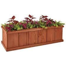 wood plant pots planters the home