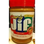 jif simply peanut er creamy