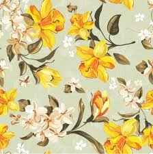 flower wallpaper pattern free vector
