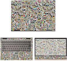 Amazon Com Decalrus Protective Decal Skull Skin Sticker For Lenovo Yoga 730 13 13 3 Screen Case Cover Wrap Leyoga730 13 67 Electronics