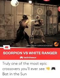 4310 DIRECTED BY AARON SCHOENKE IRL SCORPION VS WHITE RANGER ...