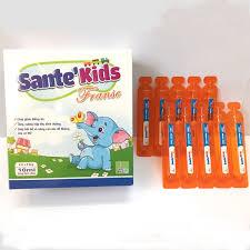 Giảm biếng ăn cho bé Sante' Kids - Ăn ngon miệng, tăng cường hấp thu