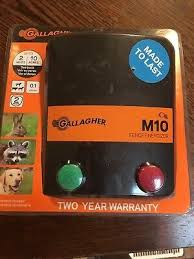 Sponsored Ebay Gallagher North America Electric Fence Charger M10 0 1 Joules 110 Volt Electric Fence Fence Charger Electricity