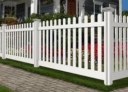 Jiminy Picket Vinyl Fence Wambam Fence In 2020 Vinyl Fence Fence Front Yard Fence