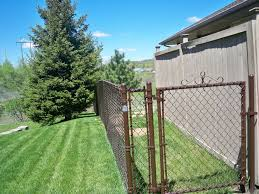 Brown Vinyl Coated Chain Link Fencing Phillips Outdoor Services Onalaska Wi