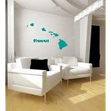 Amazon Com Lks Trading Post Hawaii Hawaiian Islands Vinyl Wall Decal Sticker Graphic Home Kitchen