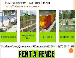 Temporary Fencing Hire Perth Rent A Fence