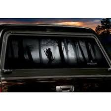 Gone Thinking Large Rear Truck Window Tint Legendary Whitetails Tinted Windows Best Car Insurance Rear Window Decals