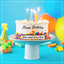 write on happy birthday cakes and cards wishes