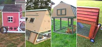 19 Portable Chicken Coop Plans Easy To Move Coop Ideas