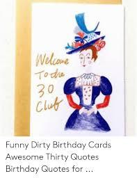 뉴 one todwas clu funny dirty birthday cards awesothirty