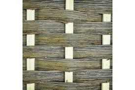 Framed Willow Trellis Fencing 6ft Wide X 6ft High Musgrove Willows