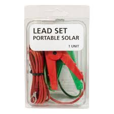 Speedrite Lead Set For Solar Energizer S500 S150 Electric Fencing Accessories Pgg Wrightson
