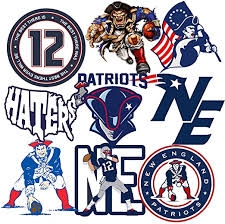 Amazon Com Gtotd Stickers For Patriots 20pcs Gifts Patriot Stickers 10x2pcs Decal Vinyl Waterproof Stickers Skateboard Guitar Travel Case Sticker Door Laptop Luggage Car Bike Stickers Kitchen Dining