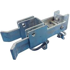 Chain Link Fence Commercial Strong Arm Double Gate Latch For 1 5 8 Thru 2 Gate Frames Pipe Sizes Use This Double Gate Latch Where 2 Gates Swing Together Walmart Canada