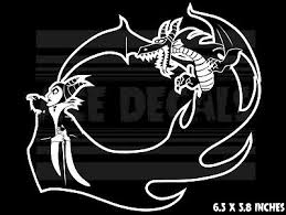 Maleficent Dragon Sleeping Beauty Car Laptop Vinyl Decal Sticker 4 99 Picclick