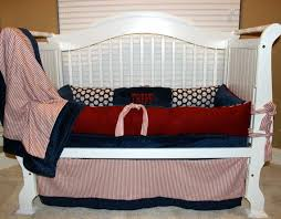 custom baby bedding vintage baseball