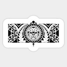 Maori Tattoo Sticker Teepublic