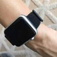 loop apple watch bands dark black