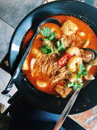 Seafood Curry Laksa looking mighty fine ...