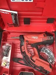 hilti gx 90 wf first fix nail gun carry