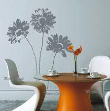 Kids Nursery Vinyl Wall Decal Floral Wall Decals Flower Vinyl Etsy
