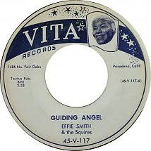 45cat - Effie Smith And The Squires - Guiding Angel / You Ought To Be  Ashamed Of Yourself - Vita - USA - 45-V-117