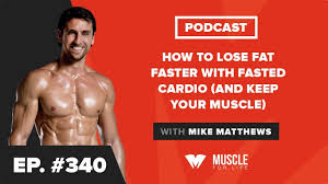 lose fat faster with fasted cardio