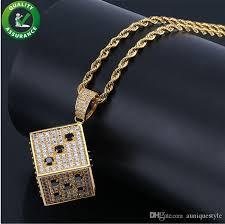 chains luxury designer necklace hip hop