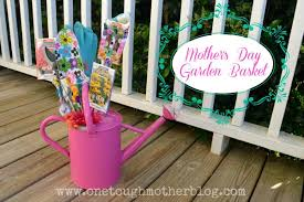mother s day garden gift basket sweet