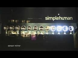 simplehuman sensor window display bed