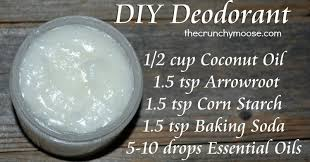 diy nontoxic homemade deodorant recipe