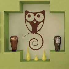 Cute Owl Wall Art Design Trendy Wall Designs